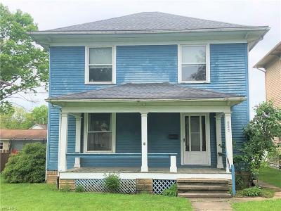 Zanesville OH Single Family Home For Sale: $89,900