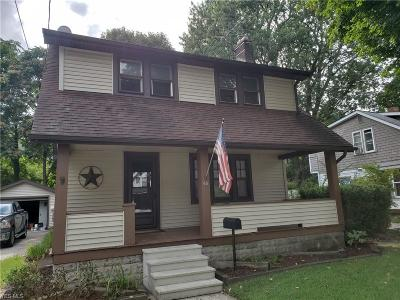 Painesville OH Single Family Home For Sale: $114,896