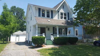 Lorain County Single Family Home For Sale: 1142 West 12th St