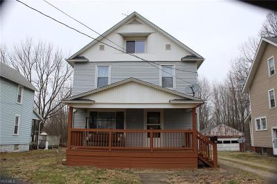 Alliance OH Single Family Home For Sale: $62,000