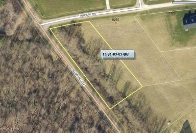 Muskingum County Residential Lots & Land For Sale: 6280 Foundry Dr
