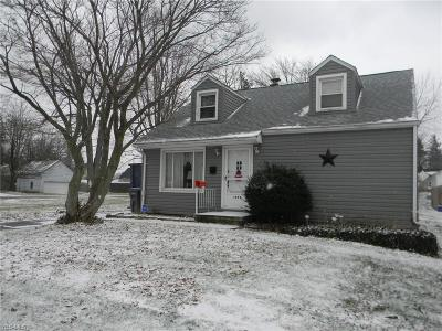 Youngstown Single Family Home For Sale: 1973 Weston Ave