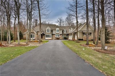 Chagrin Falls Single Family Home Contingent: 8159 Devon Ct