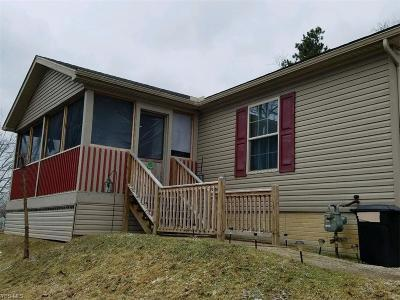 Cambridge OH Single Family Home For Sale: $109,900
