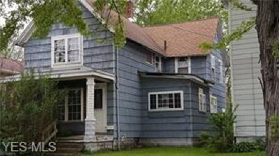 Conneaut Single Family Home For Sale: 973 Buffalo St