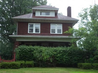 Youngstown Single Family Home For Sale: 3947 Euclid Blvd
