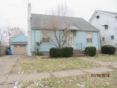 Lorain OH Single Family Home For Sale: $17,500
