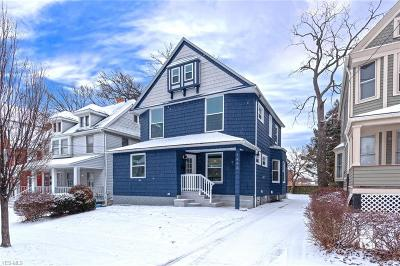 Lakewood Single Family Home For Sale: 1443 Elmwood Ave