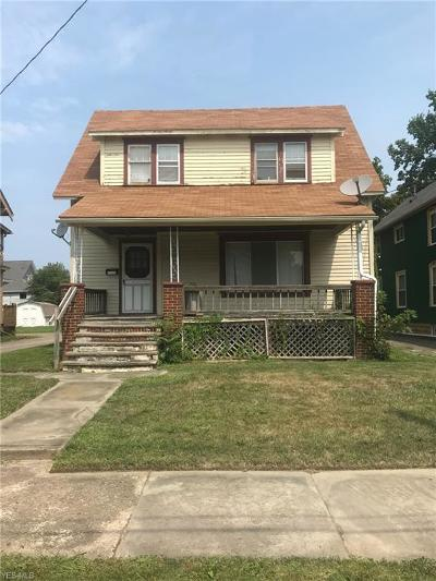 Lorain OH Single Family Home For Sale: $40,000