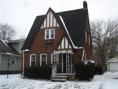 Cleveland Single Family Home For Sale: 3606 West 147th St