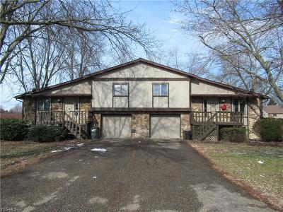 Stark County Multi Family Home For Sale: 1252 Suffield Cir Northwest