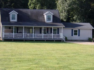 Dresden Single Family Home For Sale: 9740 McGlade School Rd