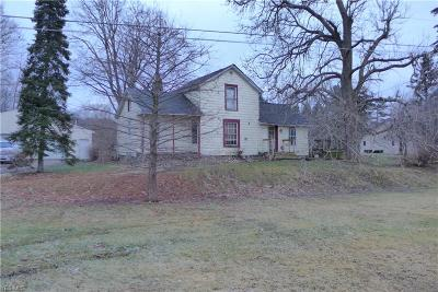 Oberlin OH Single Family Home For Sale: $69,900