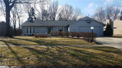 Strongsville Single Family Home For Sale: 10752 Waterfall Rd