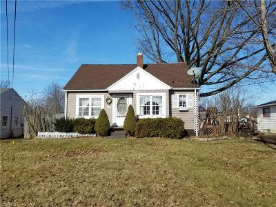Ashtabula Single Family Home For Sale: 2325 West 9th St
