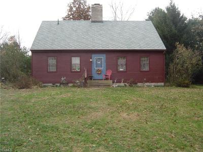 Ashland County Single Family Home For Sale: 499 Township Road 1500