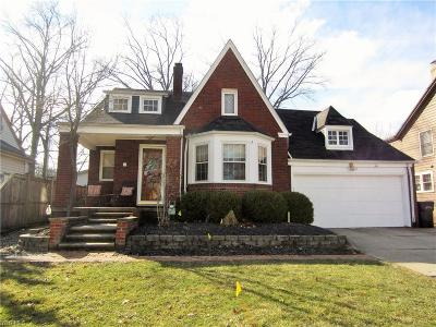 Lorain County Single Family Home For Sale: 341 Denison Ave