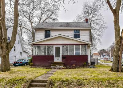 Single Family Home For Sale: 1208 Woodward Ave