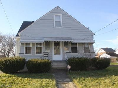 Warren Single Family Home For Sale: 1739 North Park Ave
