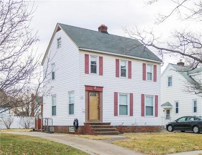 Cleveland OH Single Family Home For Sale: $117,900