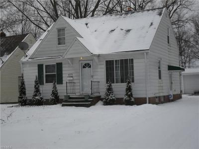 Cleveland Single Family Home For Sale: 6876 Beresford Ave