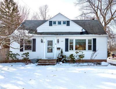 Single Family Home Sold: 1692 Overbrook Rd