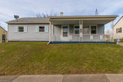 Youngstown Single Family Home For Sale: 2424 McCartney Rd