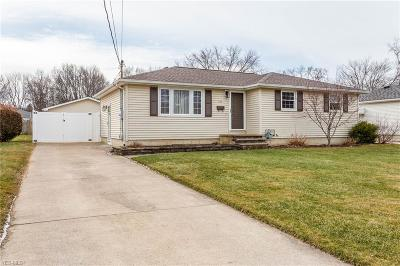 Lorain County Single Family Home For Sale: 758 West Martin Ave