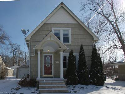 Elyria OH Single Family Home For Sale: $109,000