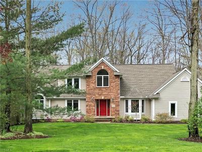 Solon Single Family Home Active Under Contract: 6048 Chagrin Highlands Drive