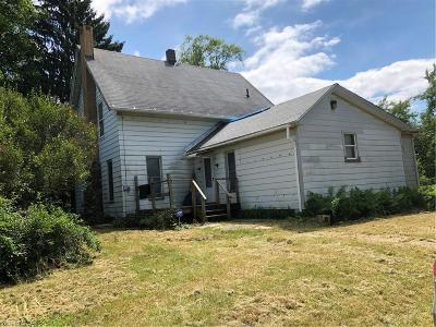 Conneaut Single Family Home For Sale: 771 Keefus Road