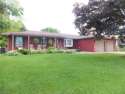 Zanesville Single Family Home For Sale: 3570 Boggs Rd