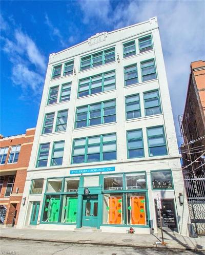 Ohio City Condo/Townhouse For Sale: 1951 West 26th St #505