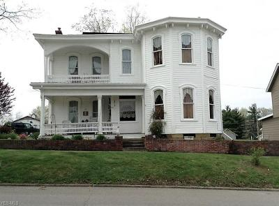 Guernsey County Single Family Home For Sale: 219 High St