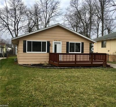 North Ridgeville OH Single Family Home For Sale: $119,500