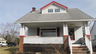 Maple Heights Single Family Home For Sale: 5191 Joseph St