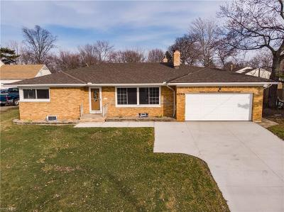 Seven Hills Single Family Home For Sale: 6799 Broadview Rd