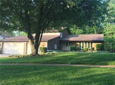Strongsville Single Family Home For Sale: 18621 Saratoga Trl