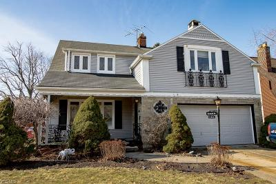 Euclid Single Family Home For Sale: 282 East 272nd St