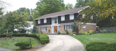 Shaker Heights Single Family Home For Sale: 2771 Coventry Rd