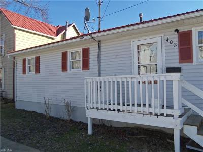 Guernsey County Single Family Home For Sale: 402 Foster Ave