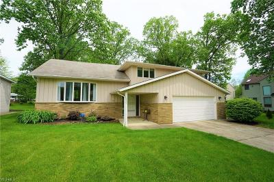 Solon Single Family Home Active Under Contract: 33365 Warwickshire Lane
