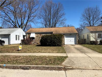 Single Family Home For Sale: 3851 West 146th St