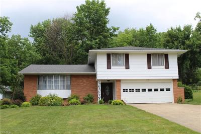 Broadview Heights Single Family Home Contingent: 4049 East Wallings Rd