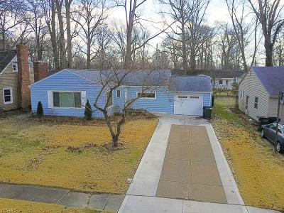 Elyria Single Family Home For Sale: 345 Miami Ave