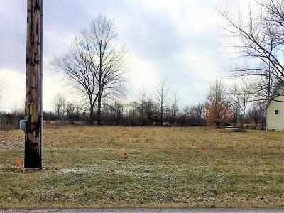 Lorain County Residential Lots & Land For Sale: Pyle South Amherst Rd