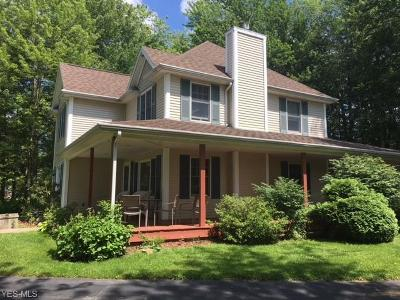 Conneaut Single Family Home For Sale: 2938 Lake- Rt 531 Rd