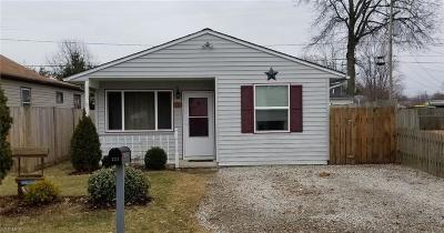 Vermilion OH Single Family Home For Sale: $84,900