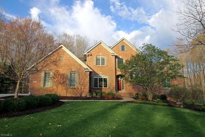 Chagrin Falls Single Family Home Active Under Contract: 17360 Tall Tree Trail