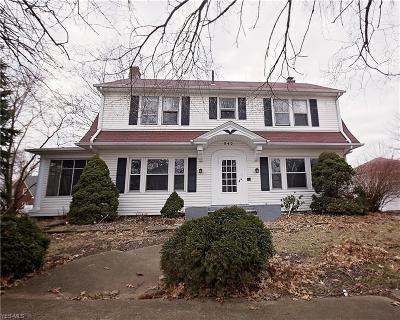 Lorain Single Family Home For Sale: 842 Mildred Ave